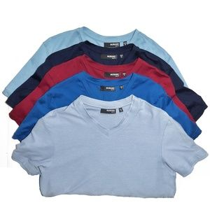 Murano Slim-Fit Short Sleeve Tees Lot of 5 Sz M
